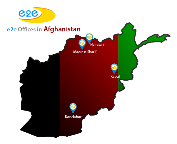 e2e Offices in Afghanistan