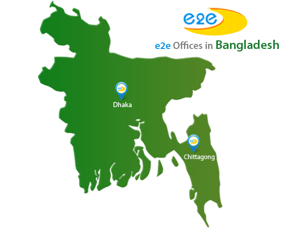 e2e Offices in Bangladesh