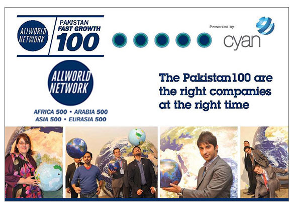 Ranked First In Allworld Network 2012